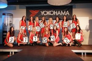 Miss Yokohama 2011 - Gruppenbild mit allen Teilnehmerinnen