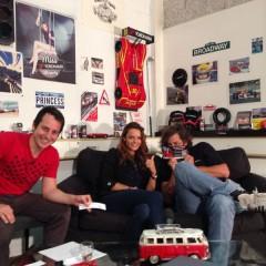 V12 Stubenews am 16.8.2014 mit Nicole Homola