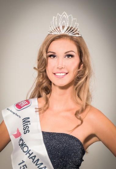 Miss Yokohama 2015/16 - Roxane Baumann  Offizielle Presse Fotos www.miss-yokohama.ch