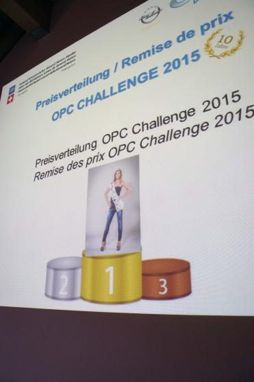 Miss Yokohama 2015/16, Roxane Baumann - OPC Challenge 2015 Preisverleihung