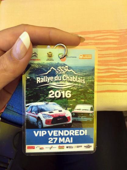 Miss Yokohama 2015/16 - Roxane Baumann - Rallye du Chablais 2016
