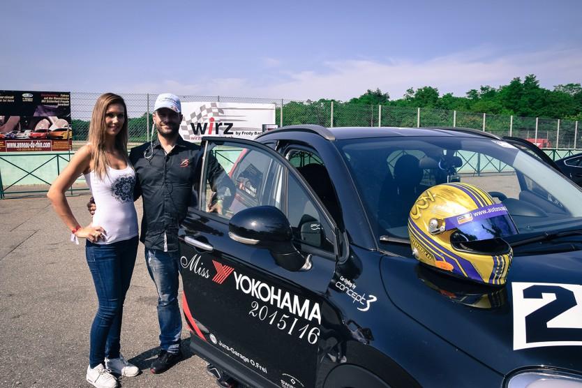 Miss Yokohama 2015/16 - Roxane Baumann mit Fredy Barth