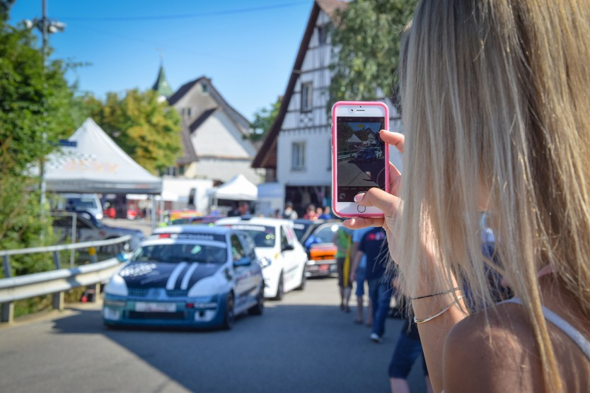 Oberhallau Bergrennen 2016 - Renault Classic Cup - Miss Yokohama