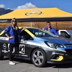 Slalomrennen Opel OPC