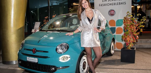 Am Fashionhotel mit Fiat