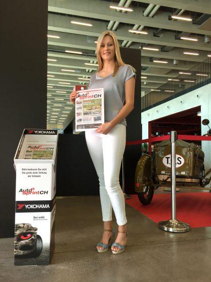 Miss Yokohama an der Swiss Classic Cars in Luzern 2017