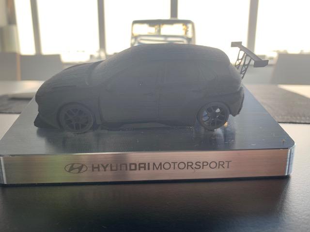 3D Mini Hyundai