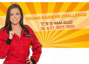 Miss Yokohama an der Young Raiders Challenge