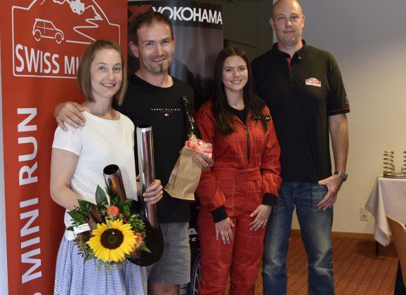 Siegerehrung Swiss Mini Run 2021